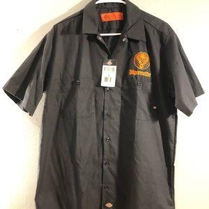 New Jagermeister Dickies Work Shirt Uniform M L